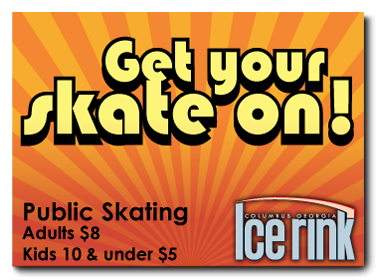 Come skate at the Columbus Ice Rink! The coolest place in Columbus! Columbus, GA
